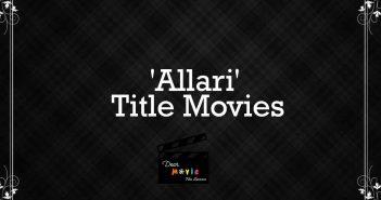 'Allari' Title Movies