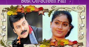 Chiranjeevi and Vijaya Shanthi