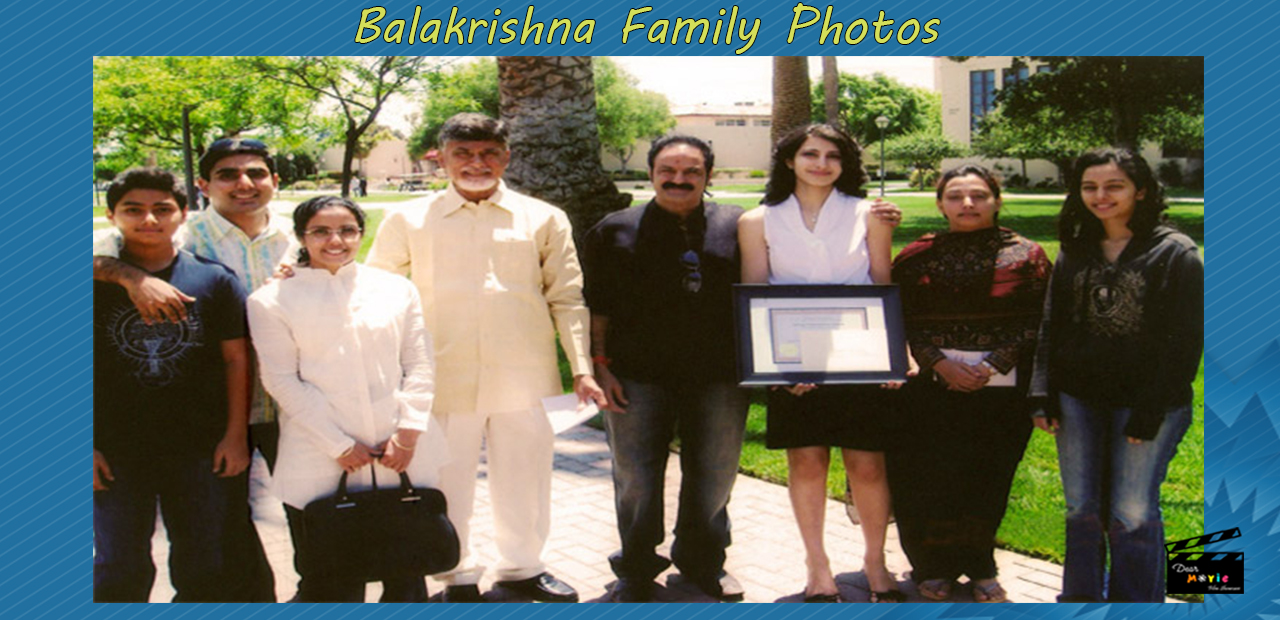 Balakrishna Family Photos