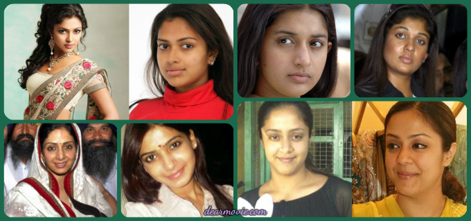 Without Makeup Tollywood Actress