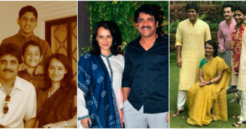 Akkineni Nagarjuna Family Photos
