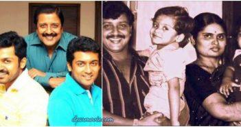Actor Surya Parents Images | Actor Saravanan Sivakumar Family