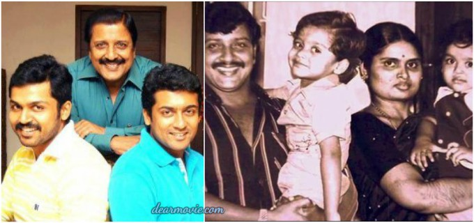 Actor Surya Parents Images | Actor Saravanan Sivakumar Family