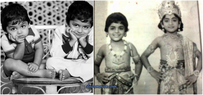 Suriya Childhood Photos | Karthik Childhood Photos | Suriya And Karthik Childhood Imgaes