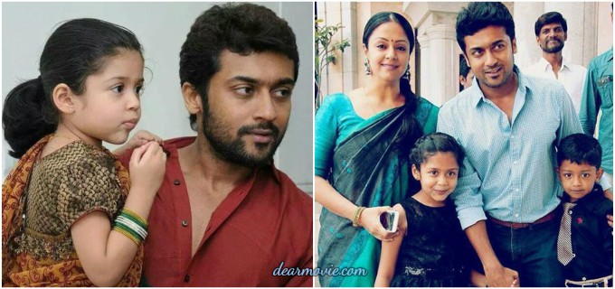 Actor Surya Family Images