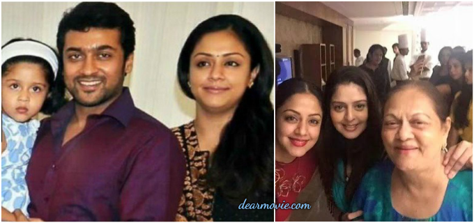 Jyothika Parents Images | Jyohika Sisters Photos