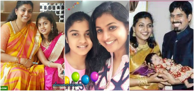 Roja Daughter Anshu Malika Images