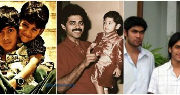 Daggubati Rana Childhood Images | Daggubati Rana Family Photos