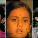 Actress Meena Childhood Images