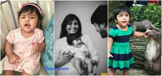 Allari NAresh Daughter Ayana Evika Edara Images