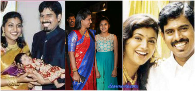 Roja Family Photos | Roja Husband R.K. Selvamani Images