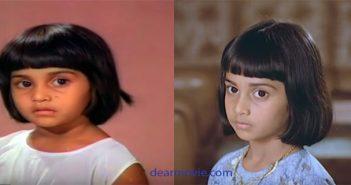 Shalini Childhood Photos | Actress Shalini childhood Images