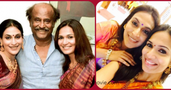 Rajinikanth Daughters Images | Rajinikanth Daughters Aishwarya , Soundarya