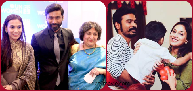 Dhanush Family Images | Aishwarya Rajinikanth Family Photos