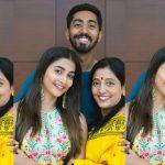 Actress Pooja Hegde Family Images