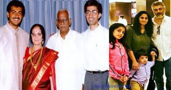 Actor Ajith Kumar Family Images