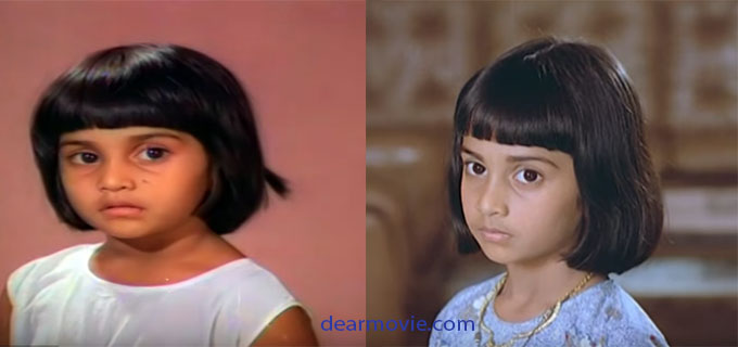 Shalini Childhood Photos | Actress Shalini Images