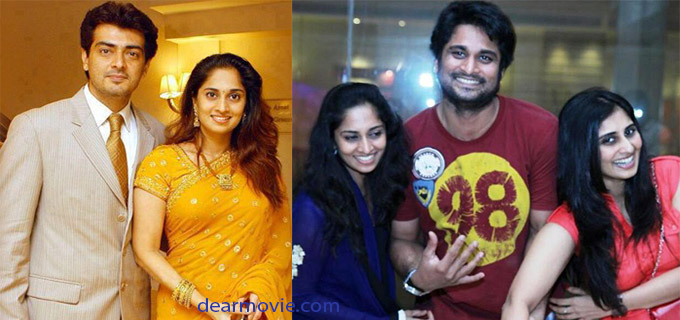 Shalini Ajith Family Photos | Shalini Family Images Shalini Ajith Family Photos | Shalini Family Images given here.